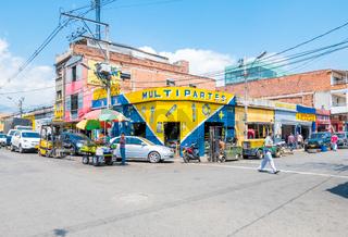 district of Medellin called sad district