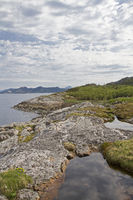 Felsküste am Nordsaltenfjord