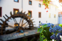 Watermill in Prague