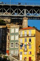 House facade in Porto, Portugal