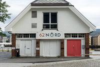 62 Grad nördlicher Breite in Ålesund, Norwegen