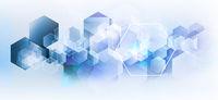 abstrakt geometrisch technologie konzept
