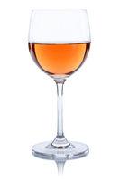 Wein Glas Weinglas Rose Rosewein freigestellt Freisteller