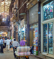 Grand Bazaar shopping street, Iran