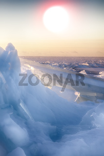 endless expanses of sea ice