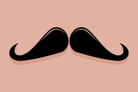 Ringmaster Moustache Icon Vector