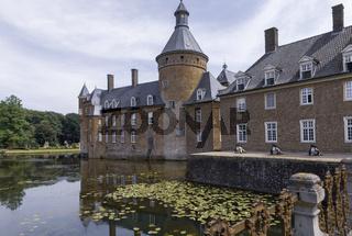 Wasserburg Anholt, Parkhotel, Schloss, Wasserschloss, Isselburg NRW