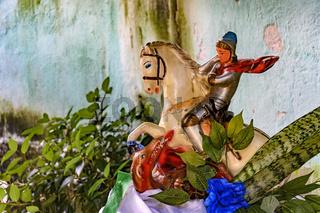 Saint George on their horse