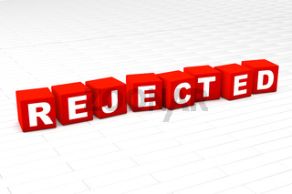 Rejected word