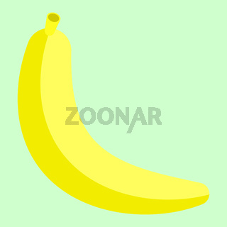Banana Minimalism Art Vector