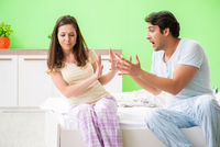 Man trying to make up with wife after conflict