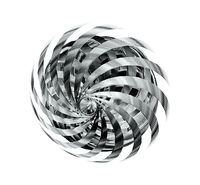 Sci-Fi Element  With Rotating Blades, Futuristic Concept Design