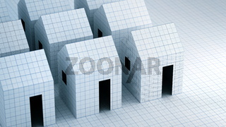 Paper house structural and Architecture Concept