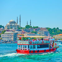 Pleasure boat in Istanbul