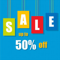 Sale Poster With Percent