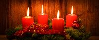 Banner Weihnachten Kerzenlicht