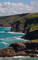 Tintagel Kueste - I - Cornwall - UK