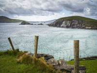 Slea Head viewpoint at dingle peninsula kerry ireland