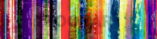 streifen aquarell farben bunt banner