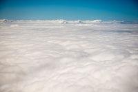 Wolken von oben
