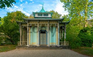 Teehaus im Schlosspark von Pillnitz