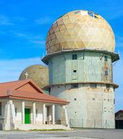 Old radar station. Portugal