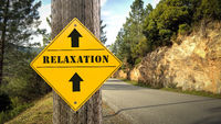 Street Sign to Relaxation