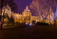 Vajdahunyad castle in Budapest Hungary