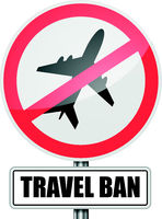 Travel Ban Sign