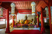 Buddha statue in Wat Palad temple, Chiang Mai, Thailand