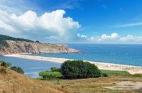 Summer coast landscape (Bulgaria, Sinemorets).