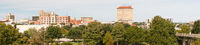 Long Panoramic View of Riverfront and Downtown San Angelo Texas