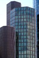 Hochhäuser Bankenviertel Frankfurt