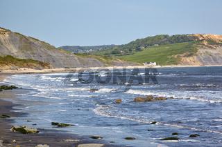 Jurassic Coastline at Lyme Regis. West Dorset. England.
