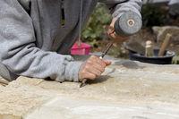 Bildhauer und Steinmetz