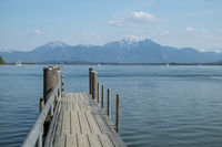 Chiemsee in Bavaria