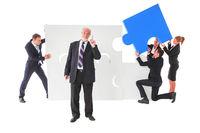 Business senior leadership concept