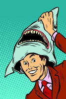 carnival shark costume