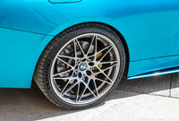 BMW wheel with Michelin low profile tire