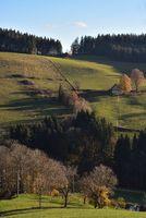 Schwarzwald Landschaft nahe St. Märgen
