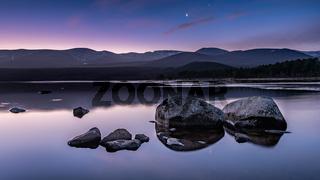 Sunrise at Loch Morlich, Scotland
