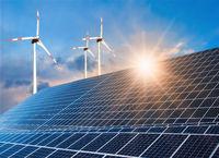 Photovoltaikanlage und Windkraftanlage