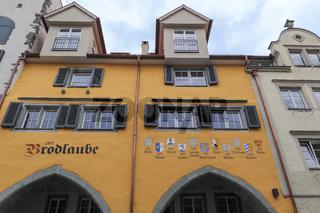 Geschäftshäuser in Lindau, Bodensee