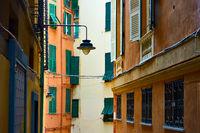 Old street in Genoa
