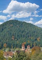 Klosterreichenbach bei Baiersbronn im Schwarzwald,Baden-Wuerttemberg,Deutschland