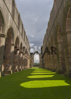 Fountains Abbey arches