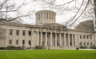 The Ohio Statehouse Grounds in the Downtown Urban Core of Columbus