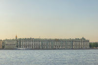 Saint Petersburg Russia, city skyline at Winter Palace