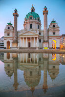 St. Charles's Church (Karlskirche) in Vienna, Austria