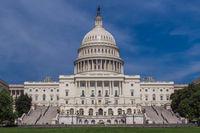 Washington, the white house. The symbol of America.